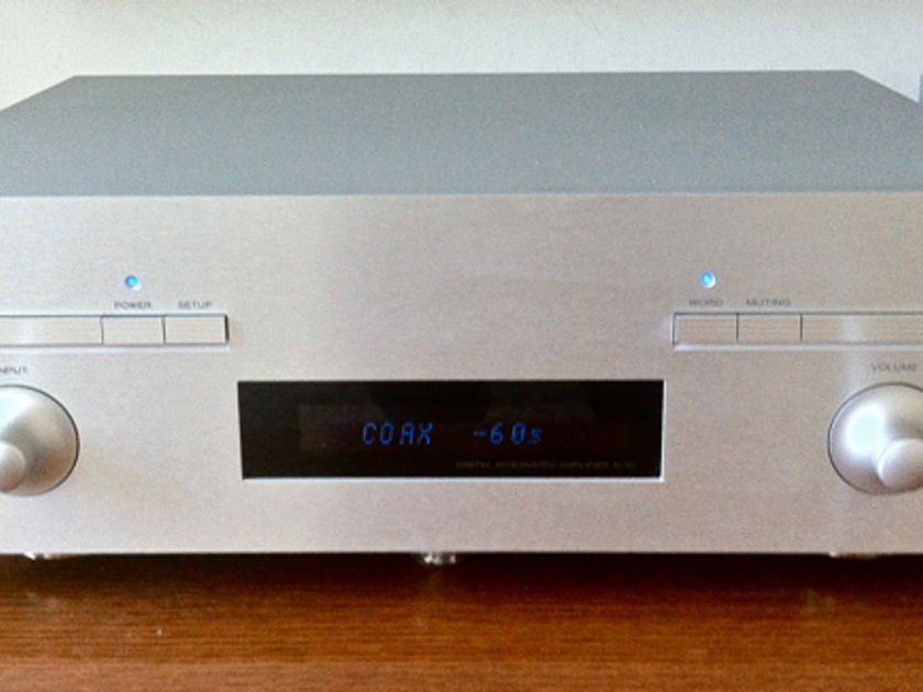 Esoteric A1-10 integrated amplifier with built in DAC, Phono stage and Word clock - 230 volts (Europe)