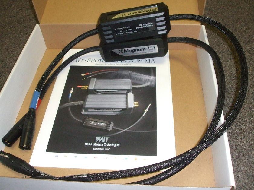 MIT Magnum MA Proline(XLR) Interconnects, 1 meter pair