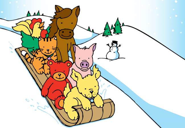 Primrose Friends Winter