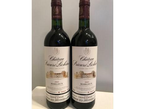 Chateau Prieure Lichine: 2003 Vintage Bordeaux