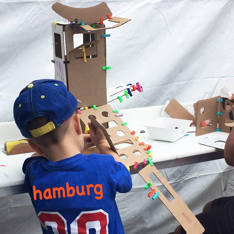 model cardboard bridge challenge
