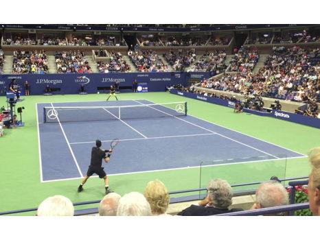 Courtside!  US Open Tennis Courtside Tickets