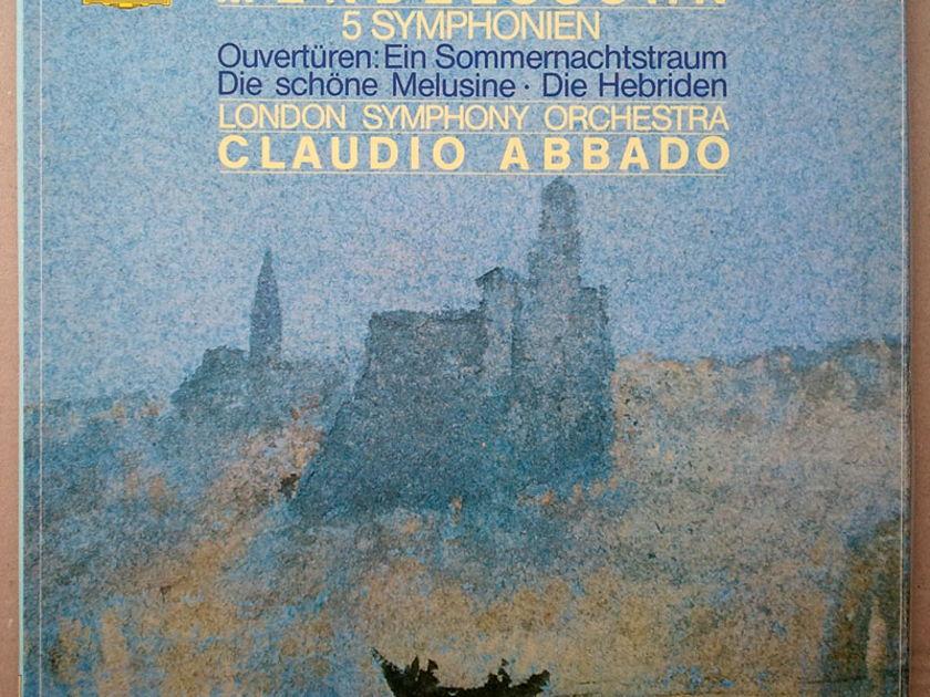 DG Digital/Abbado/Mendelssohn - 5 Symphonies / 4-LP / NM