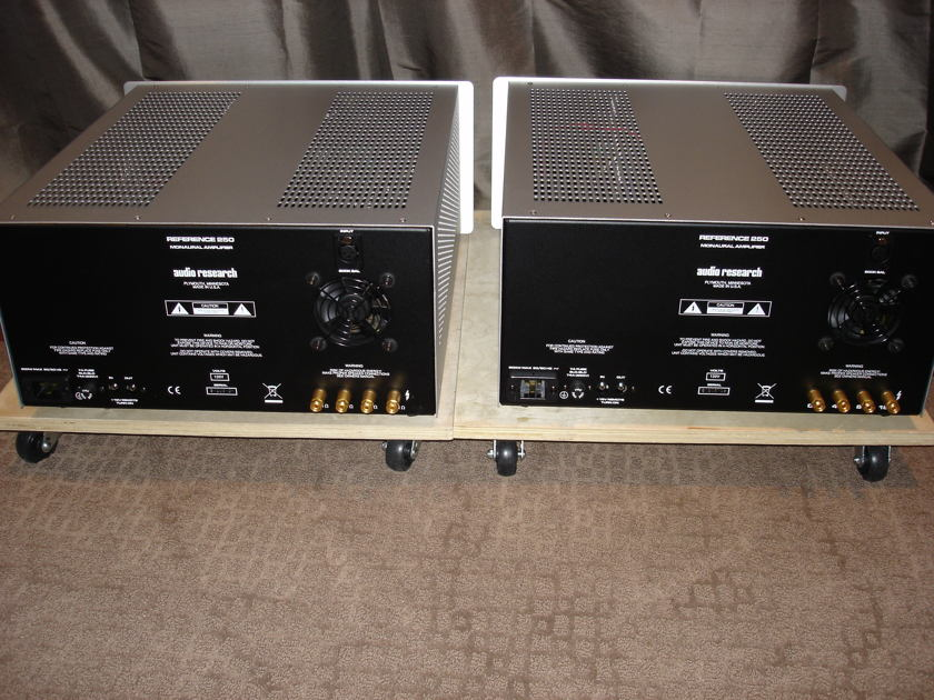 Audio Research Reference 250 Mono Amplifiers - an Audiogon first- photos
