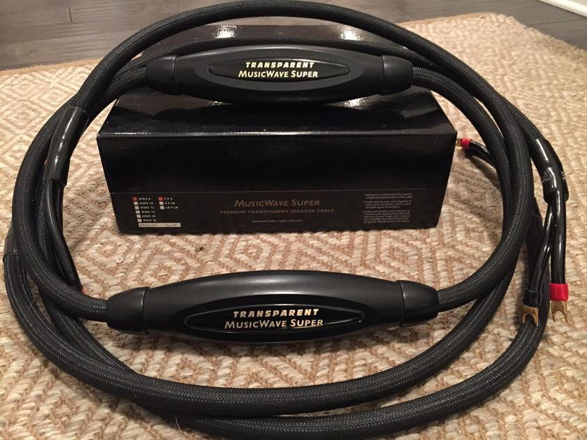 Transparent Audio MusicWave Super MM Speaker Cables