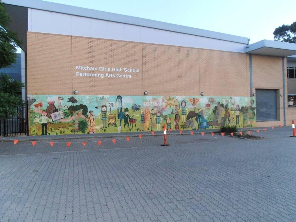 removing Mural with transgel graffiti remover