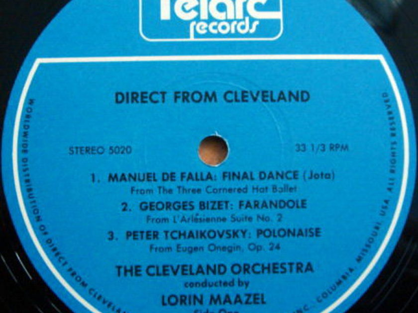 ★Audiophile★ Telarc / MAAZEL, - The Cleveland Orchestra, MINT!