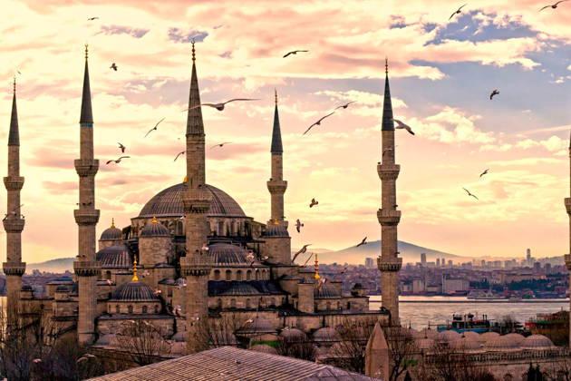 Весь за 1 день Стамбул на авто!