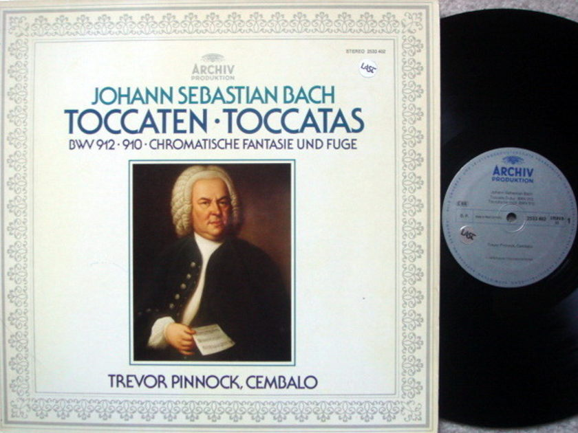 Archiv / PINNOCK, - Bach Toccatas, Fantasia & Fugue, MINT!