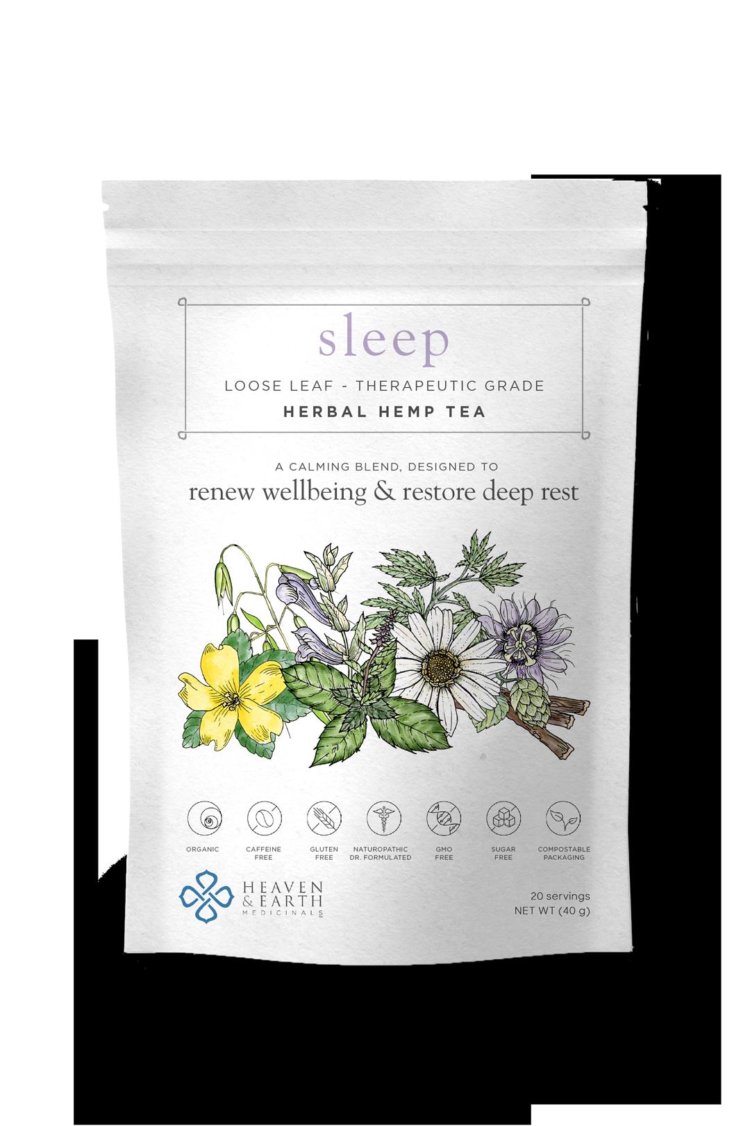 Sleep. Tea. Herb. Medicine. Insomnia. Anxiety. Tension. Dreams.