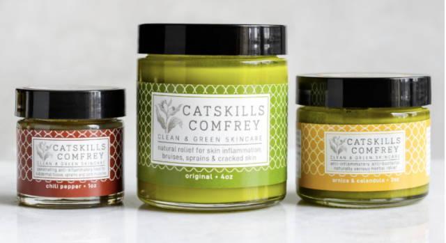 Catskills Comfrey Salves