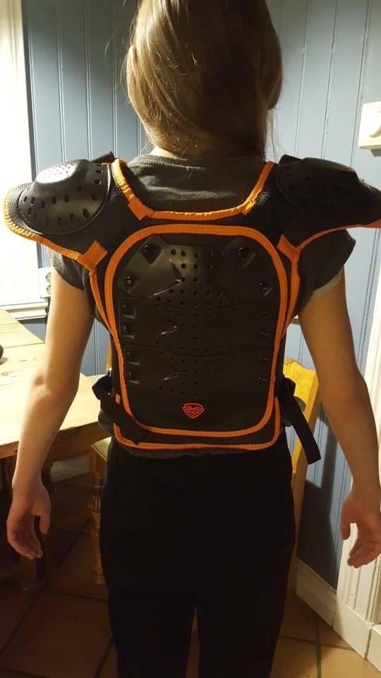 gilet de protection enfant securite trottinette electrique