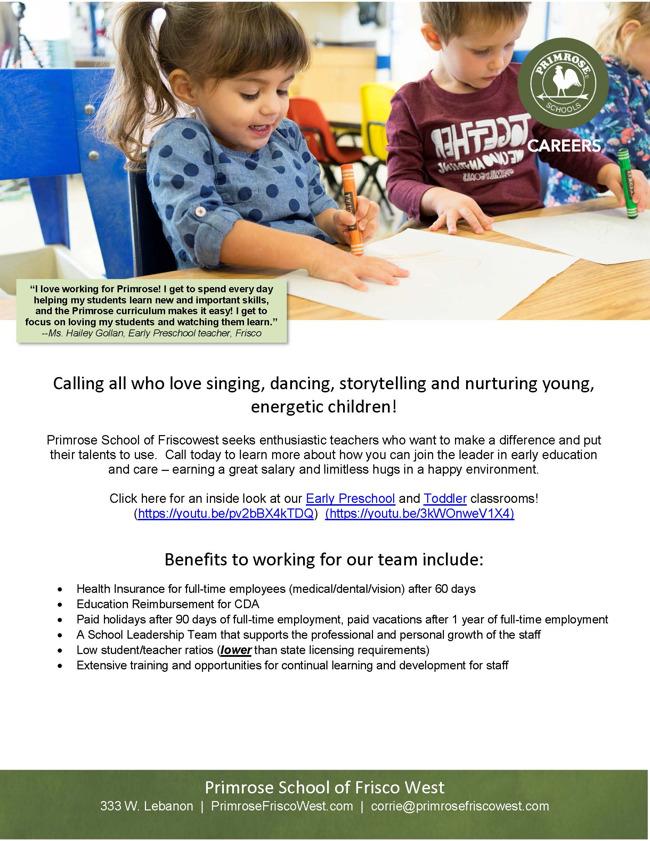 ep recruitment flyer