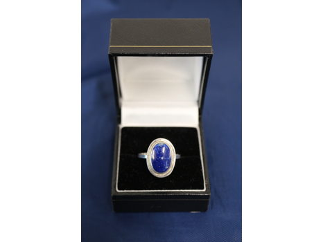 Chilean Lapis Ring