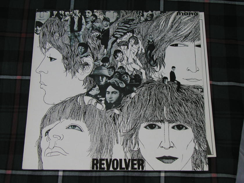 "The Beatles  ""Revolver"" - Jpn MONO Red Vinyl 1982 version"