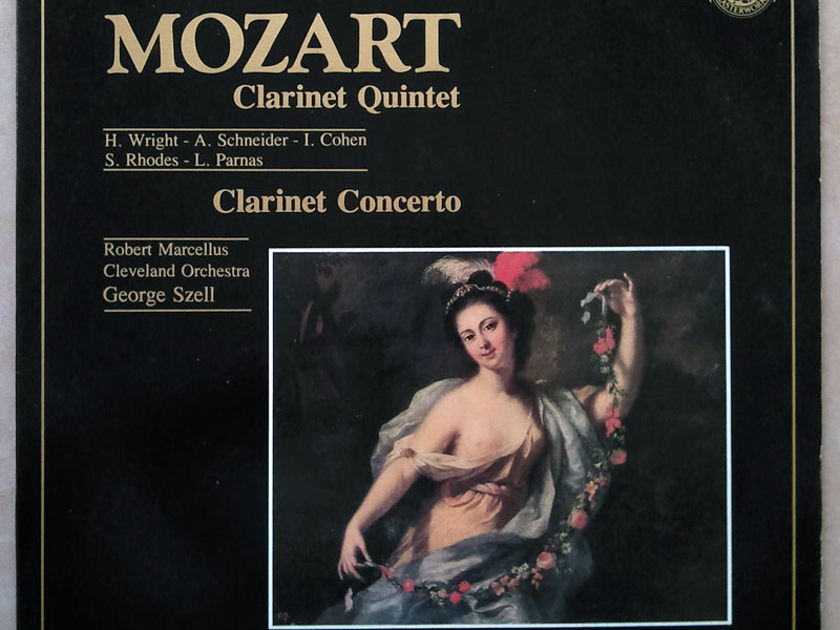 CBS/Szell/Robert Marcellus/Mozart - Clarinet Concerto, Clarinet Quintet / NM