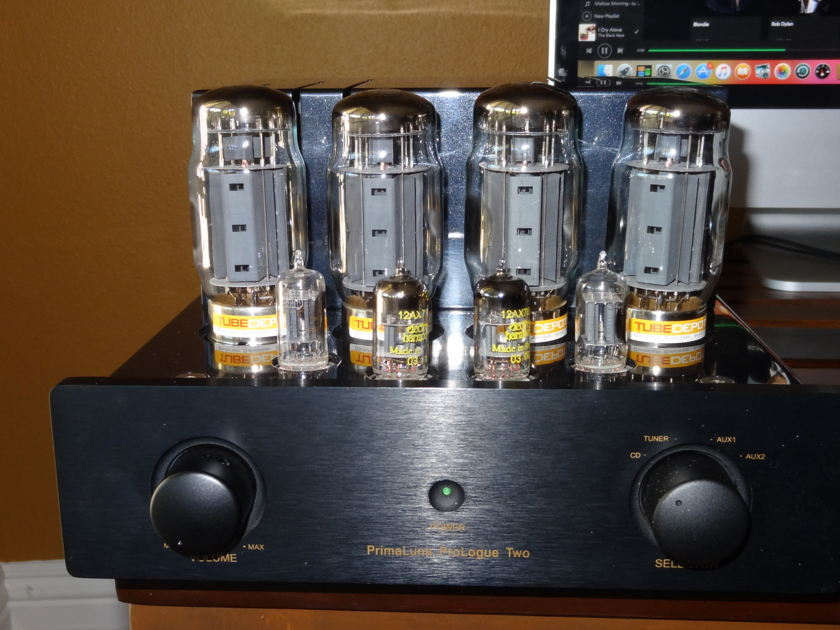 PrimaLuna Prologue 2 Highly rated audiophile KT 88 Integrated Amp