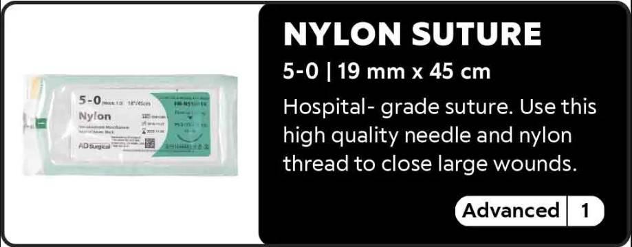 Nylon Suture 5-0
