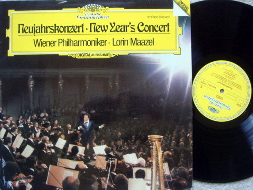 DG Digital / LORIN MAAZEL-VPO, - Vienna New Year's Concert (1980), MINT!