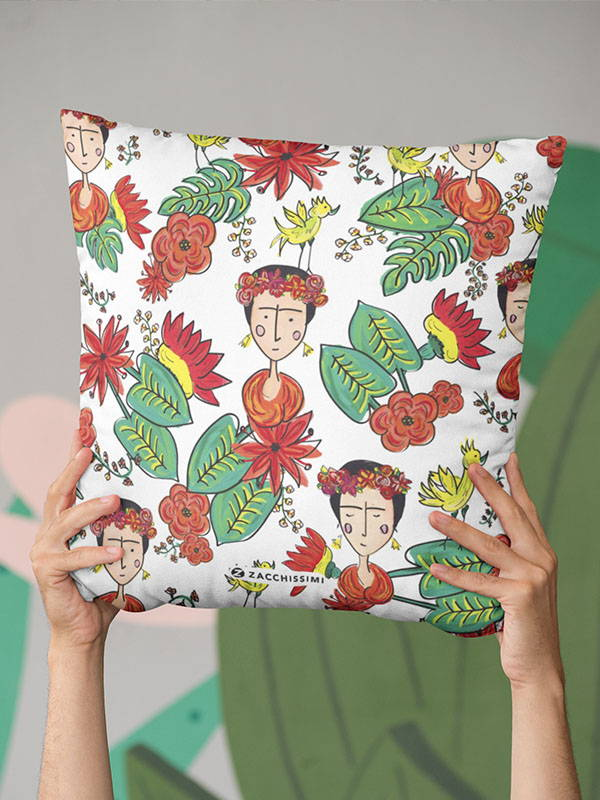 Zacchissimi Frida Kahlo Inspired Cushion