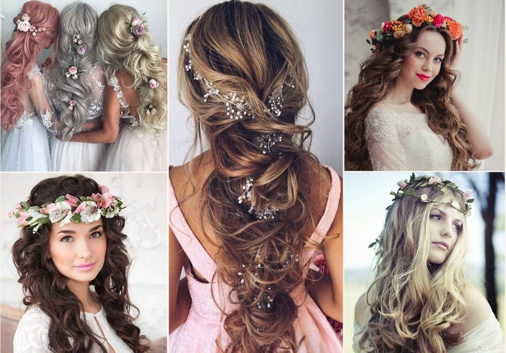 Wedding hairstyle with hair extension 2019