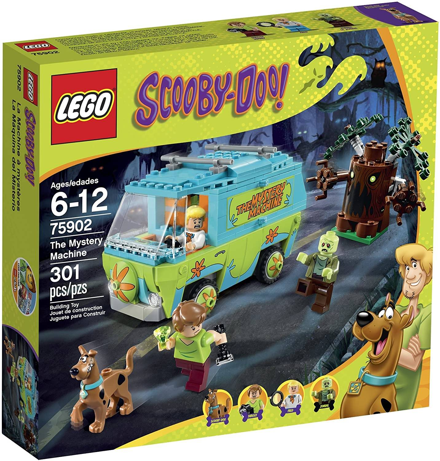 Scooby-Doo The Mystery Machine Building Kit