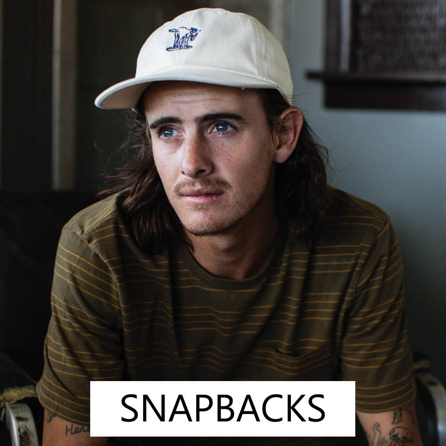 Men's snapbacks for a casual style year round.