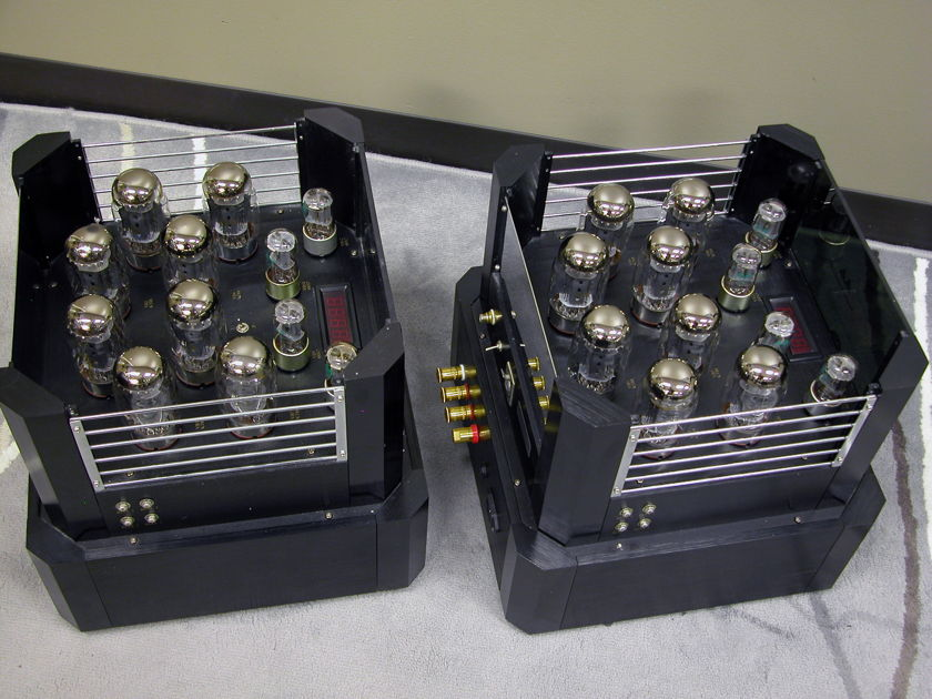 Antique Sound Labs Hurricane DT mkII Mono Amplifiers with Updated Modifications