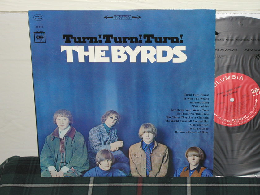 The Byrds - Turn,Turn,Turn (Pics) Columbia <360> labels from 60's