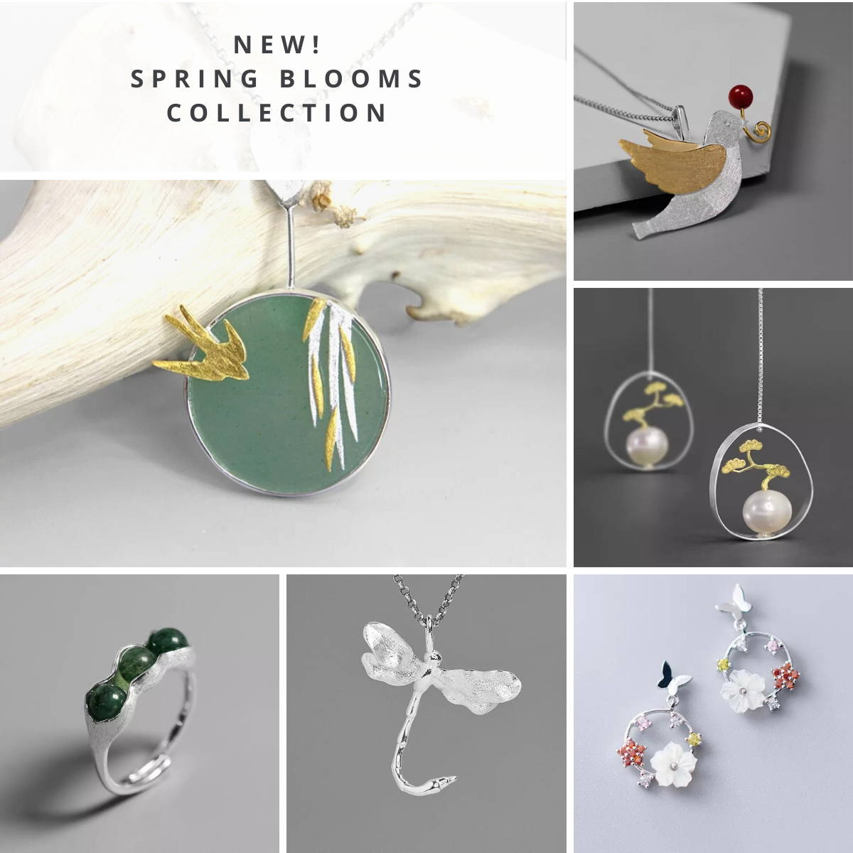 Spring Blooms Jewellery Collection