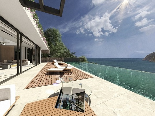 Puerto Andratx - High quality design villa with sea views for sale in the sought after coastal town of Canyamel, Mallorca