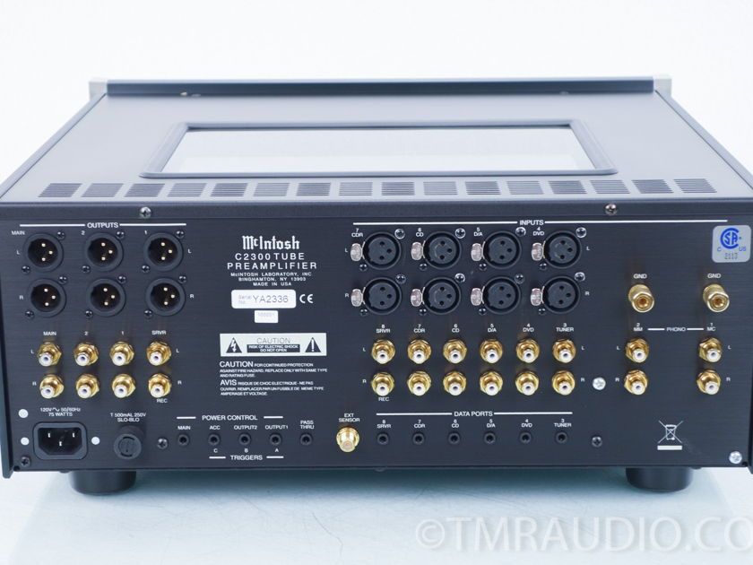 McIntosh C2300  Stereo Tube Preamplifier; C-2300 (8322)