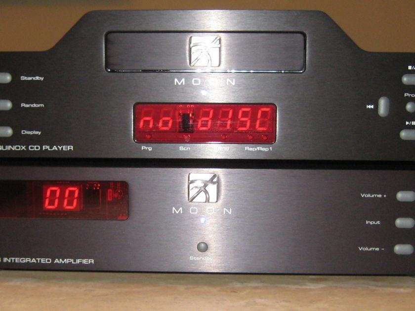 Simaudio Moon Equinox CD & i-3 Integrated Amp