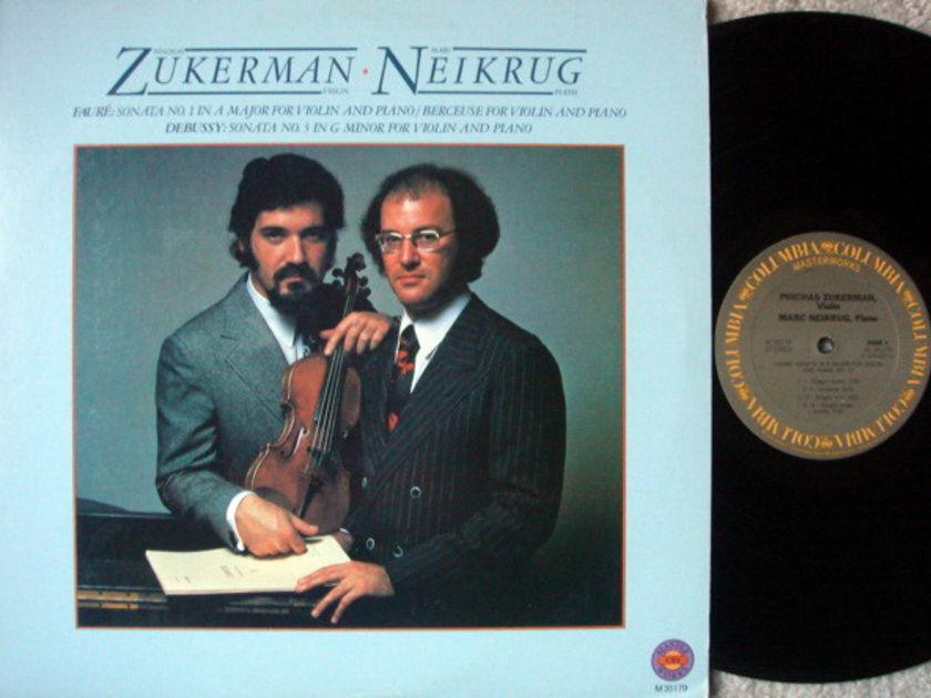 CBS / ZUKERMAN-NEIKRUG, - Faure-Debussy Violin Sonatas, NM!