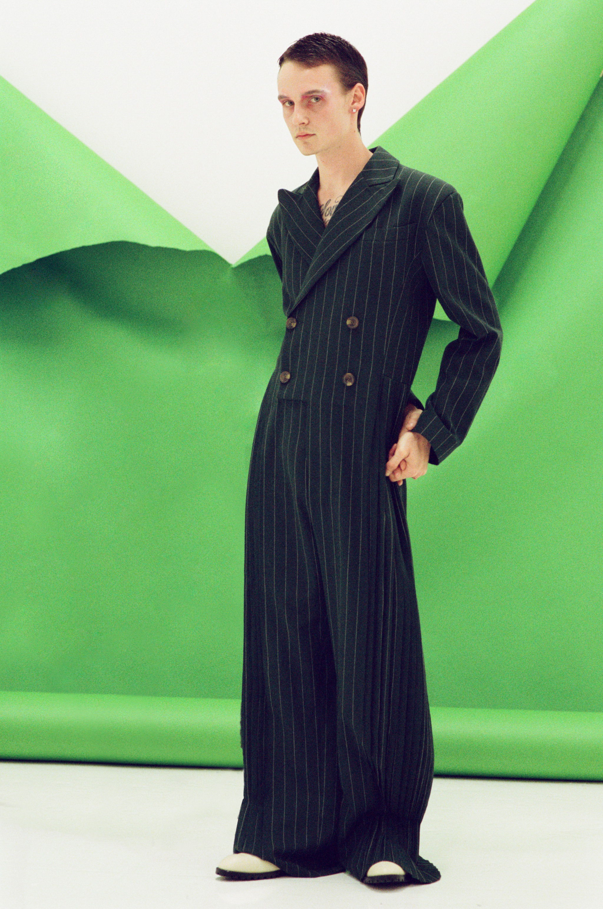 Charles Jeffrey Loverboy FW17 mens  jumpsuit at h lorenzo