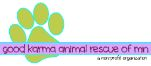 logo for our partner Good Karma Animal Rescue of MN