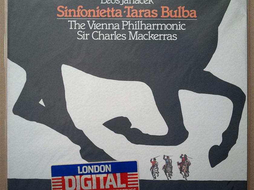 SEALED/London Digital/Mackerras/Janacek - Sinfonietta, Taras Bulba / Imported Pressings