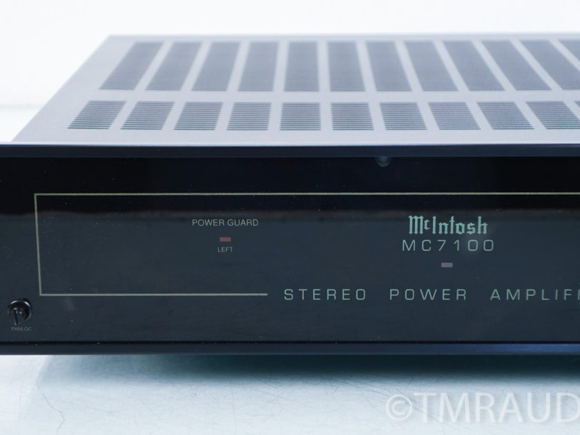 McIntosh MC-7100 Stereo Power Amplifier; MC-7100 (8149)