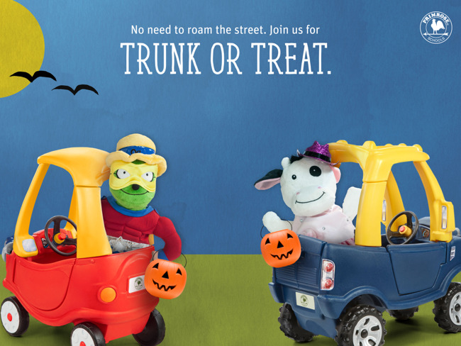 trunk or treat, Primrose School of Pearland