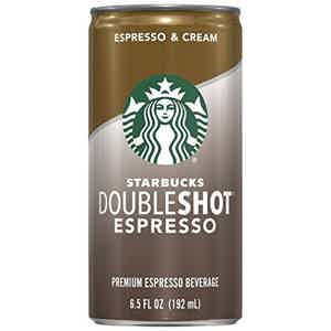Starbucks double shot espresso
