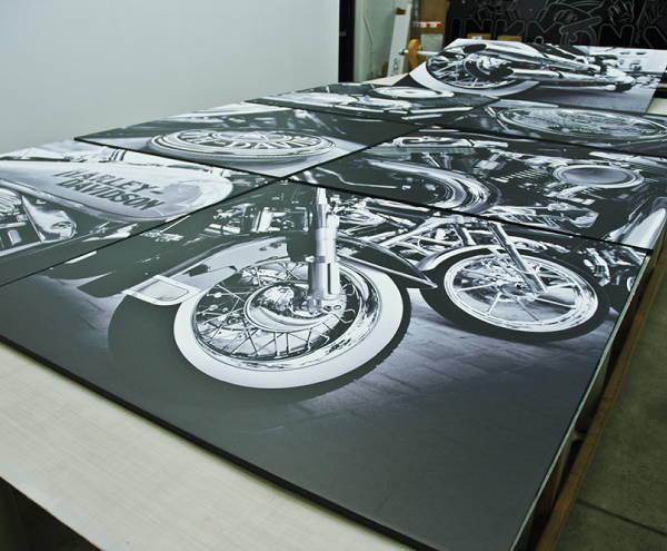 Art & Posters - Harley Davidson Canvas Prints