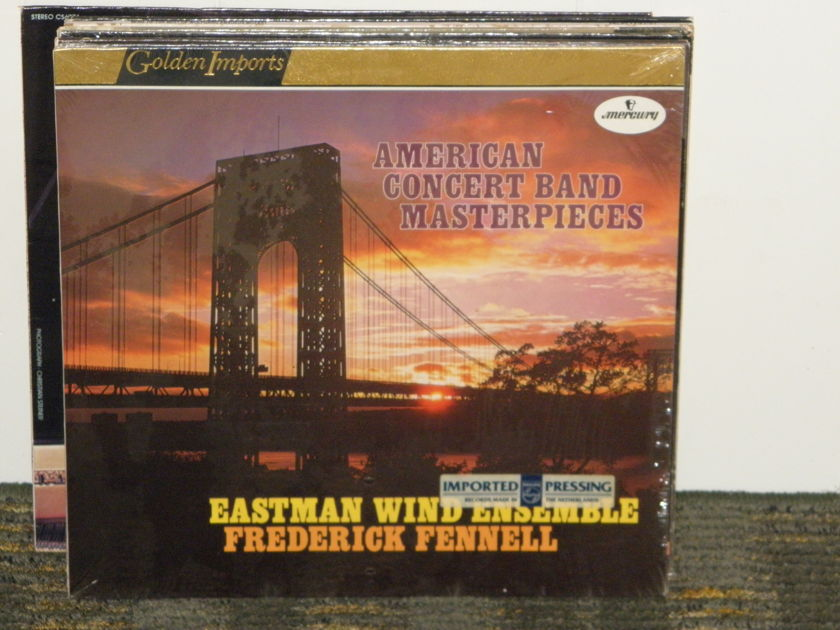 Frederick Fennell/Eastman Wind Ensemble - Gould+Schumann+Bennett Mercury Golden Imports SRI-75086 Still in Shrink