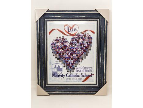 5th Grade: We <Heart> NCS Framed Photo