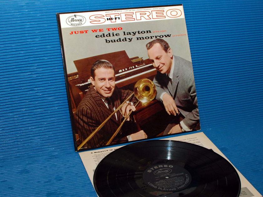"""EDDIE LAYTON & BUDDY MORROW  - """"Just We Two"""" - Mercury 1958 1st pressing Stereo"""
