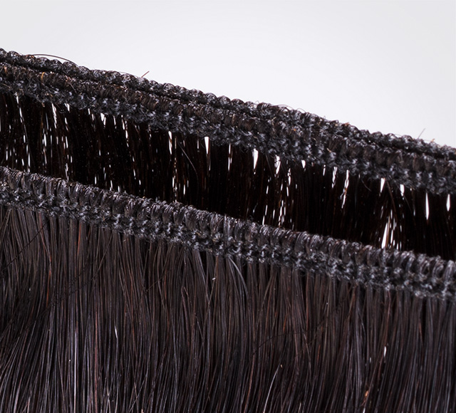 Straight Brazilian Hair Extensions Weft Detail Mavyenn