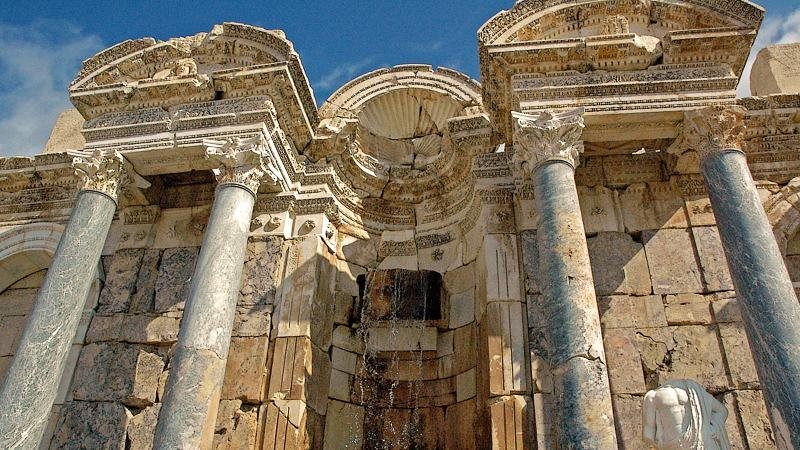 Sagalassos, archaeological site of southwestern Turkey