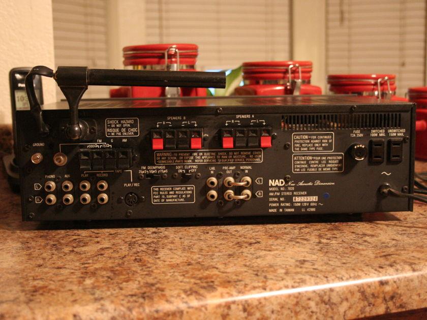 NAD  receiver  7020 photos
