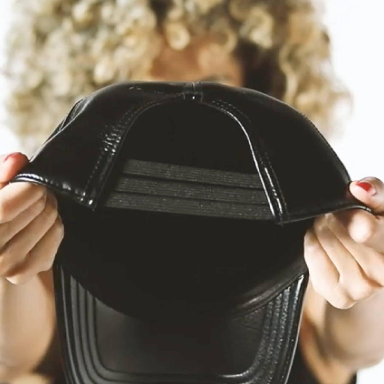 workout hat, slapcap, satinlinedcaps, the slap cap