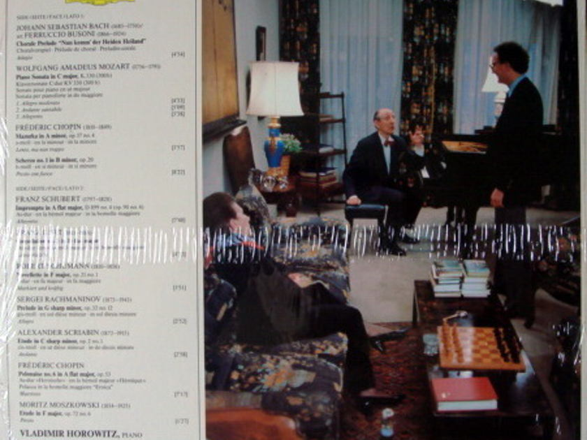 ★Sealed★ DG Digital / VLADIMIR - HOROWITZ, Bach-Chopin-Liszt!