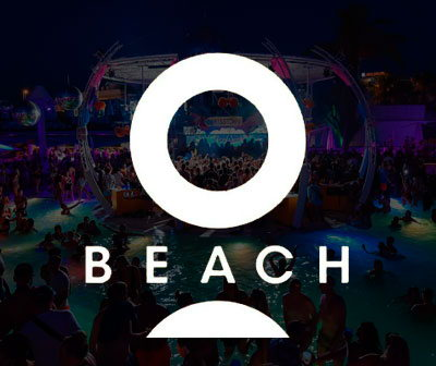 Pool party O beach sundays , calendario fiestas O beach Ibiza